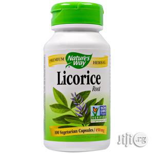 Licorice Root, 450 Mg, 100 Veggie Caps | Vitamins & Supplements for sale in Lagos State