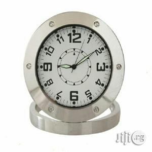 Surveillance Spy Table Clock With Camera Memory Slot   Security & Surveillance for sale in Lagos State, Apapa