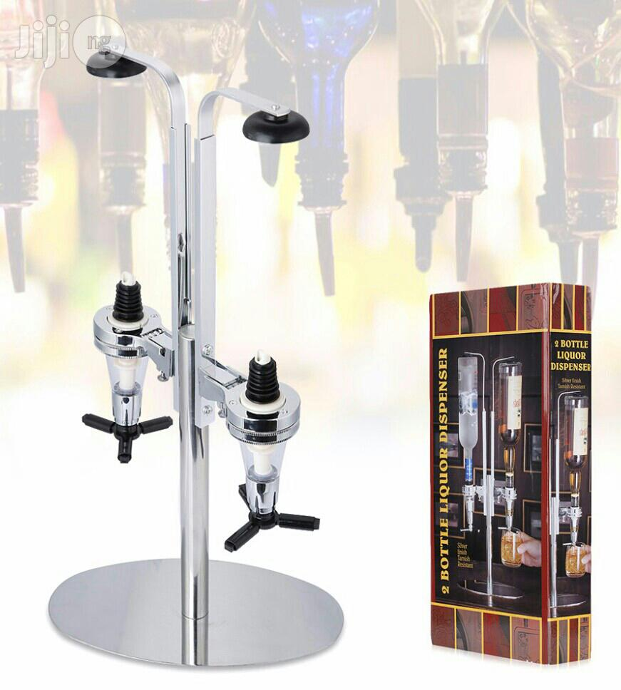 2 Bottle Liquor Dispenser