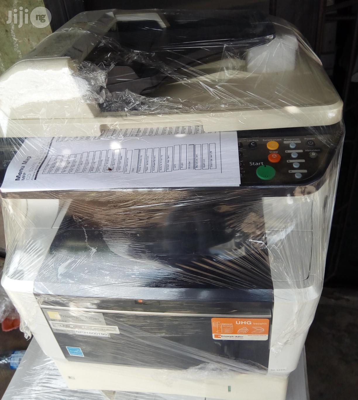 Kyocera/Triumph Adler Dc 6240 Multifunctional Photocopy