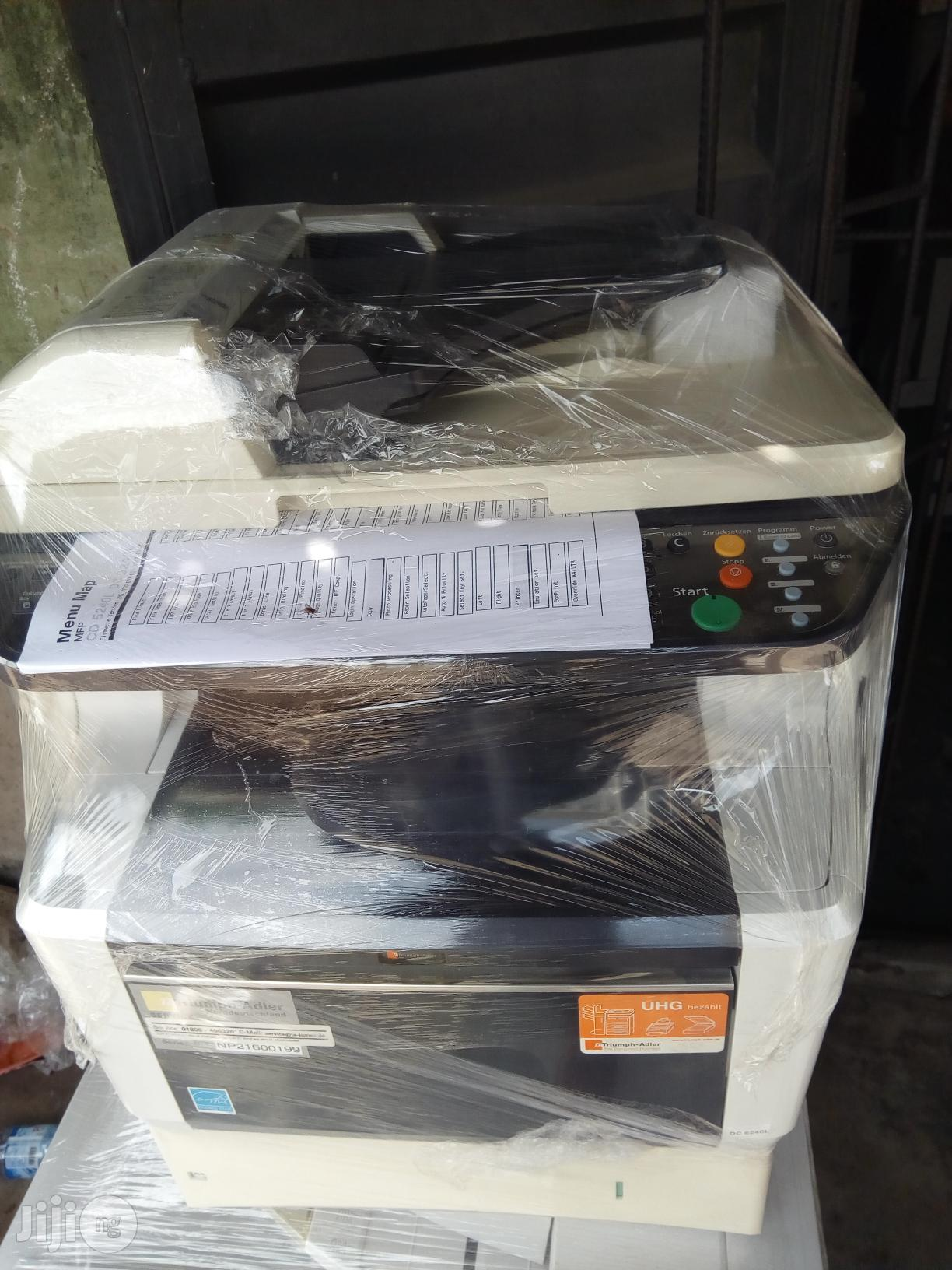 Kyocera/Triumph Adler Dc 6240 Multifunctional Photocopy | Printers & Scanners for sale in Surulere, Lagos State, Nigeria