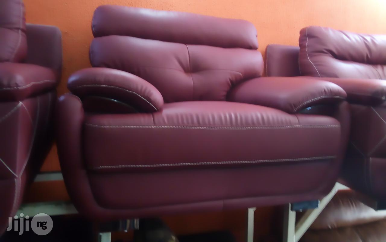 Archive: This Is a High Quality Leather Sofa Set by 7