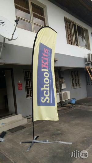 Feather Banner/Teardrop Banner/Flying Banner | Printing Services for sale in Lagos State, Ikeja