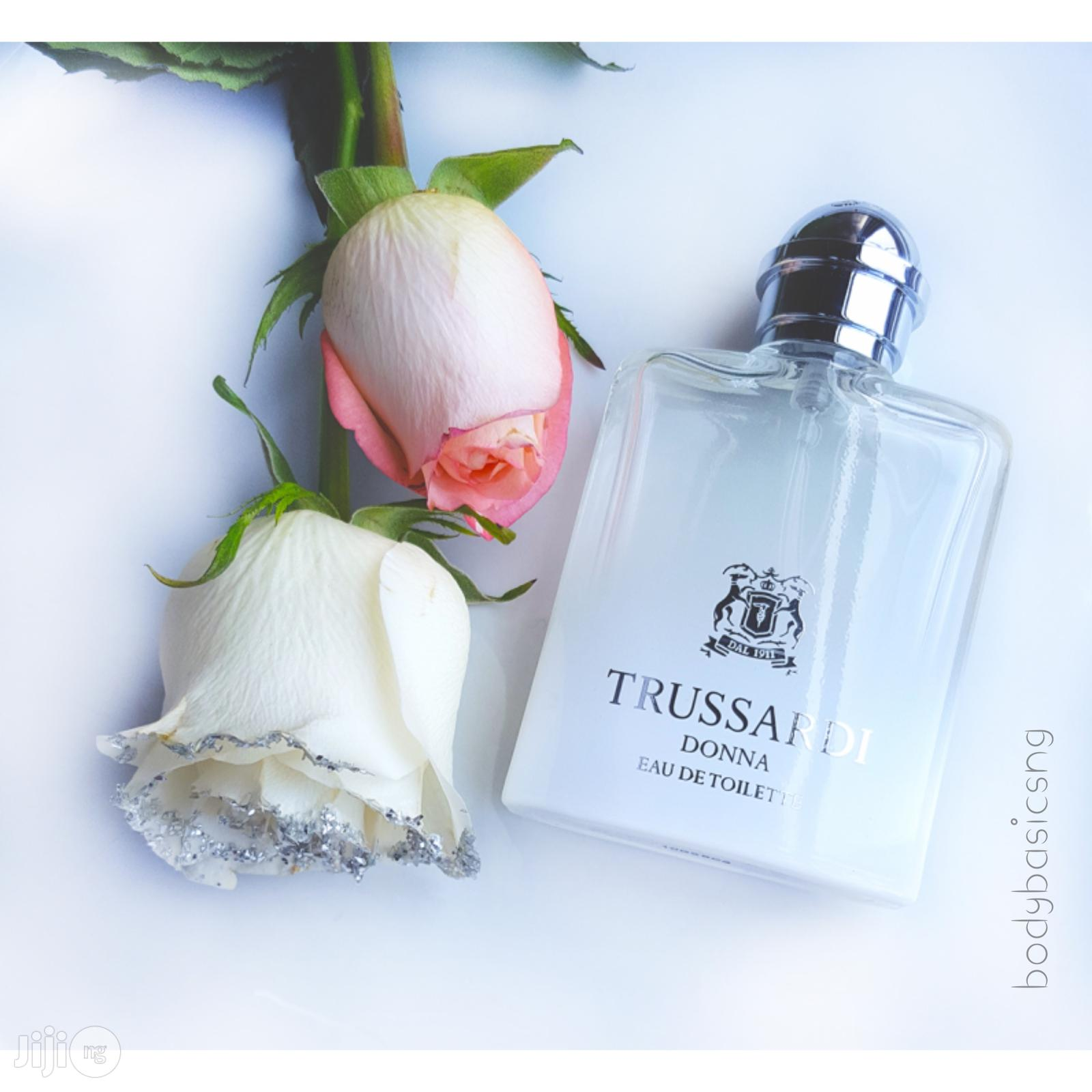 TRUSSARDI DONNA Oil 30ml Plus 2 Free Samples | Fragrance for sale in Isolo, Lagos State, Nigeria