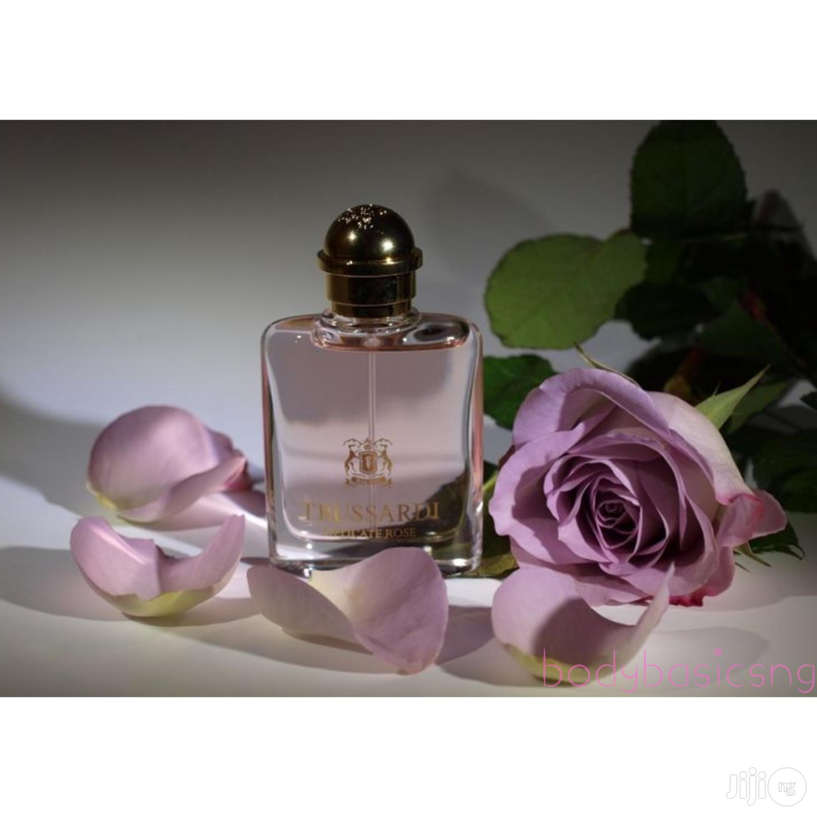 Trussardi Delicate Rose Oil 30ml Plus 2 Free Samples   Fragrance for sale in Isolo, Lagos State, Nigeria