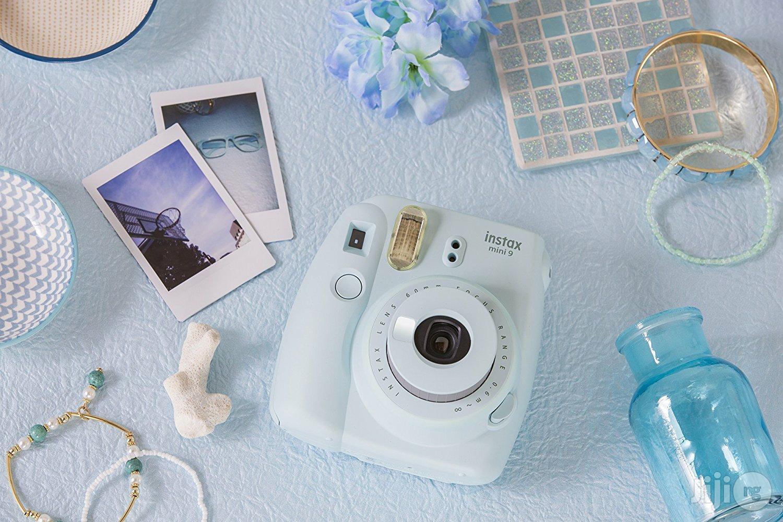 USA Fujifilm Instax Mini 9 - Ice Blue Instant Camera
