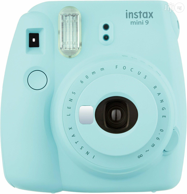 USA Fujifilm Instax Mini 9 - Ice Blue Instant Camera | Photo & Video Cameras for sale in Alimosho, Lagos State, Nigeria