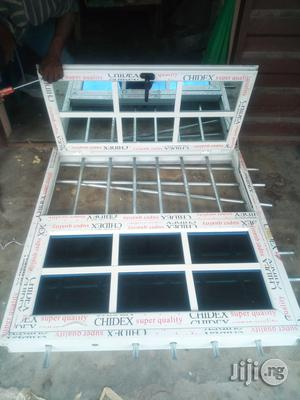 Casement Window With Protector   Windows for sale in Rivers State, Port-Harcourt