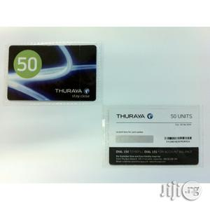 Thuraya Scratch Card 50 Unit   Tax & Financial Services for sale in Lagos State, Ikeja