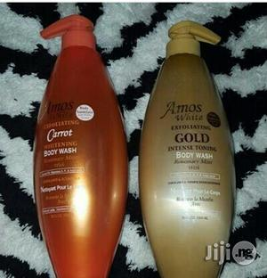 Amos White Intense Toning Shower Gel Spf 60 | Bath & Body for sale in Rivers State, Port-Harcourt