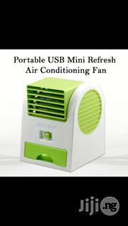 Portable Mini Fan Usb And Battery | Electrical Equipment for sale in Lagos State, Lagos Island