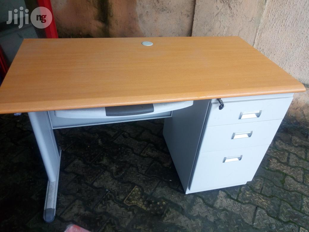 Metal Office Table 4ft