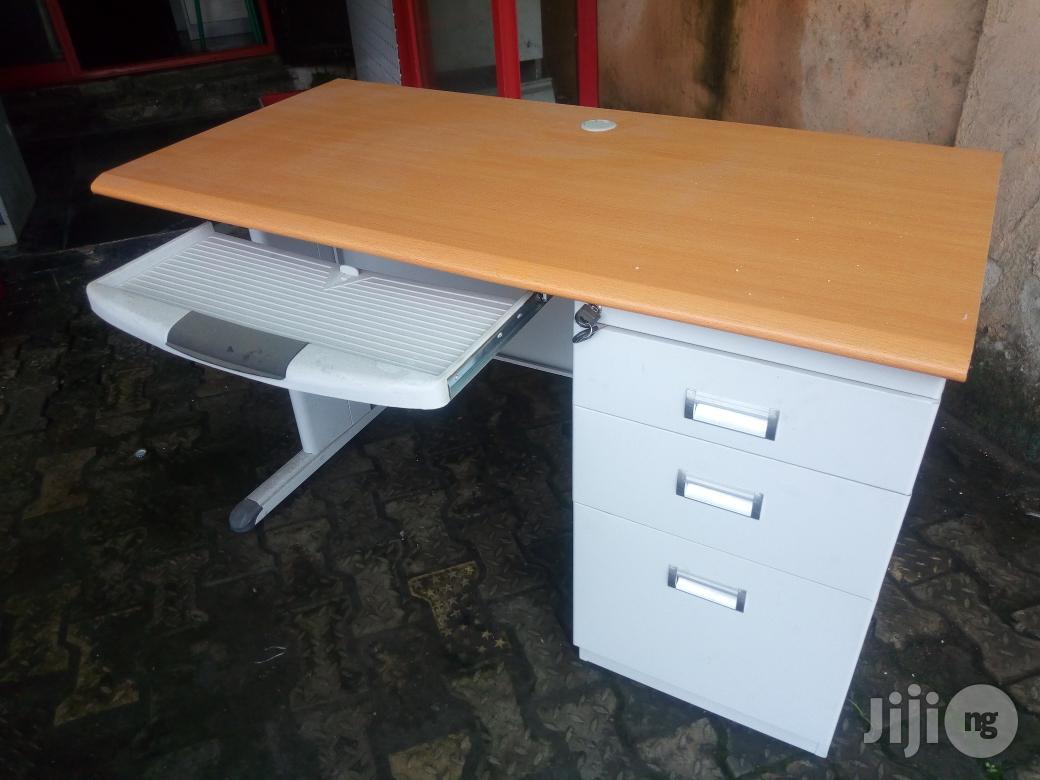 Metal Office Table 4ft | Furniture for sale in Lekki, Lagos State, Nigeria