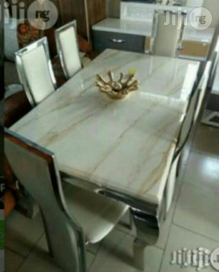 Quality Seater Marble Dining Table