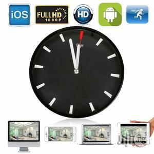 P2P Wifi Wall Clock Hidden Camera IP DVR Wireless Digital Cam HD 1080P | Security & Surveillance for sale in Lagos State, Apapa