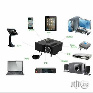 LED Portable Mini Multimedia Projector - Black | TV & DVD Equipment for sale in Lagos State, Apapa