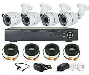 CCTV KIT 4 Channels -High Definition (Ahd) With Internet 3G Phone Vi   Security & Surveillance for sale in Lagos State, Apapa
