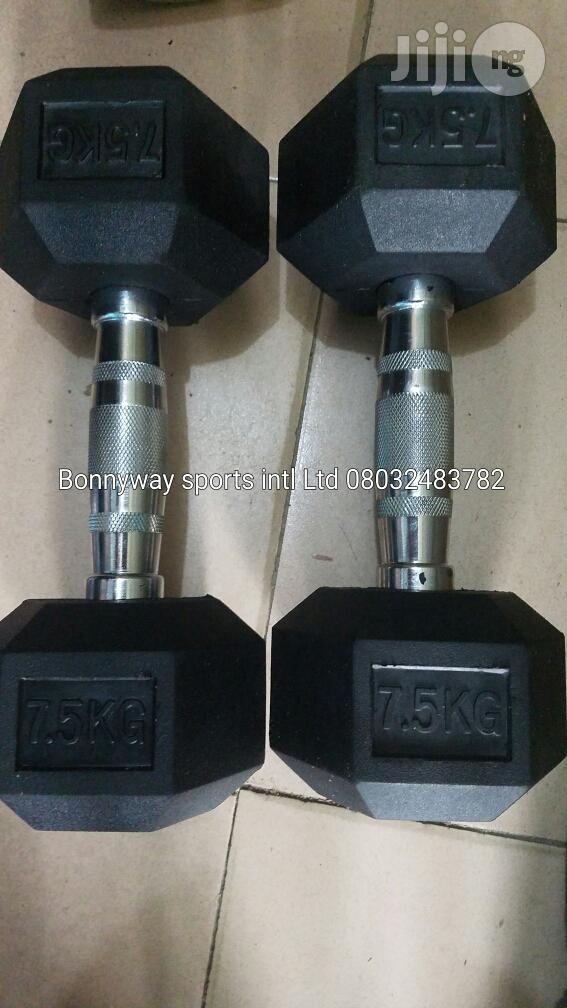 Get Ur Variety of Commercial Dumbells | Sports Equipment for sale in Ikeja, Lagos State, Nigeria