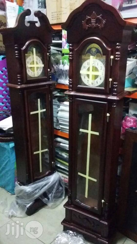 German Grandfathers Pendulum Clock