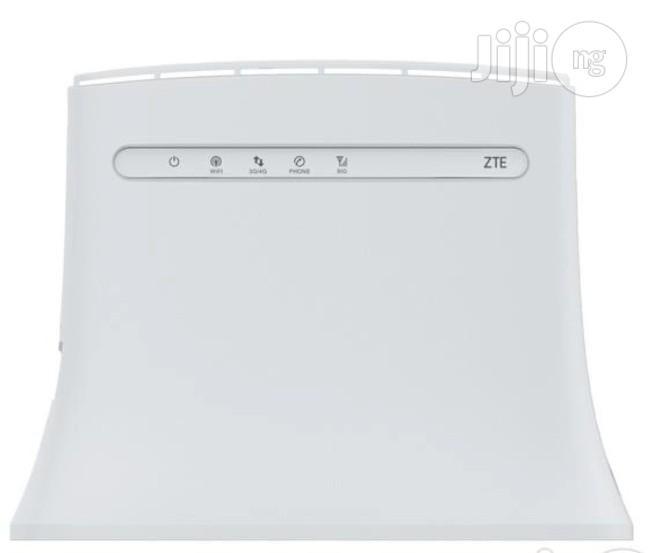 ZTE Router 4G LTE Fromspectranet,Swift,NTEL,Smile Networks,MTN,Airtel,9mobile,Glo Etec