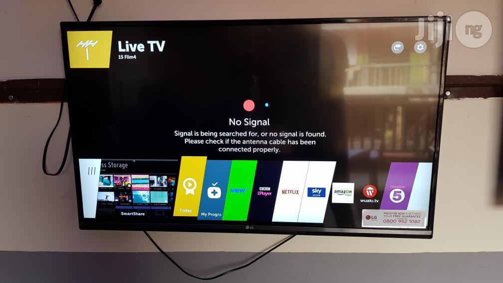 43 Inches LG Smart WEBO'S UHD 4K Led Tv