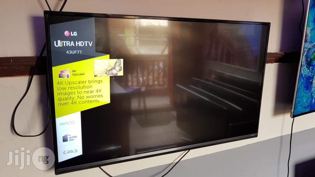43 Inches LG Smart WEBO'S UHD 4K Led Tv | TV & DVD Equipment for sale in Ojo, Lagos State, Nigeria