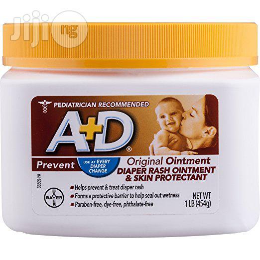 Archive: A+D Original Diaper Rash Ointment in Ikeja - Baby & Child ...