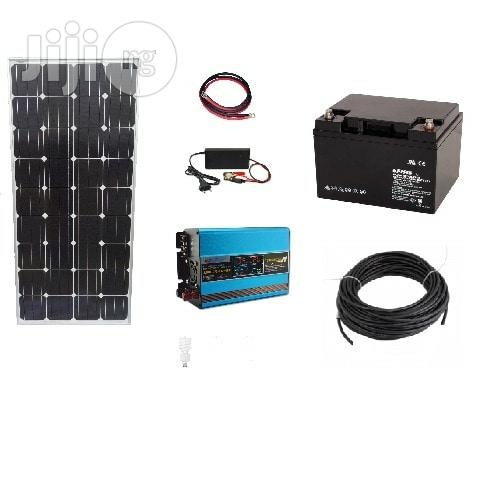 300W Solar System For Home And Office