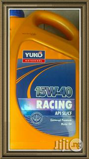 Yuko 15W40 Api Sl/Cf Premium Motor Oil | Vehicle Parts & Accessories for sale in Rivers State, Port-Harcourt