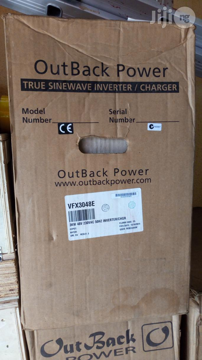 Archive: Outback Power VFX3048E Pure Sine Wave Inverter Charger