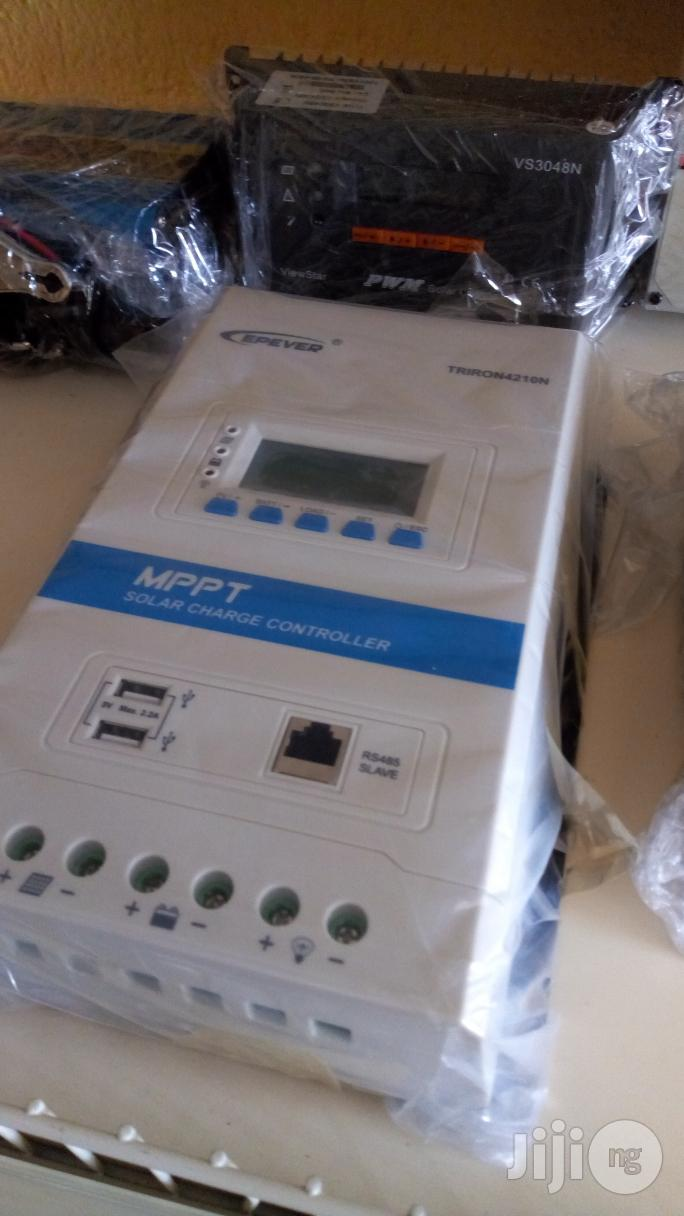 Epever 40A 12/24V Mppt Solar Charge Controller
