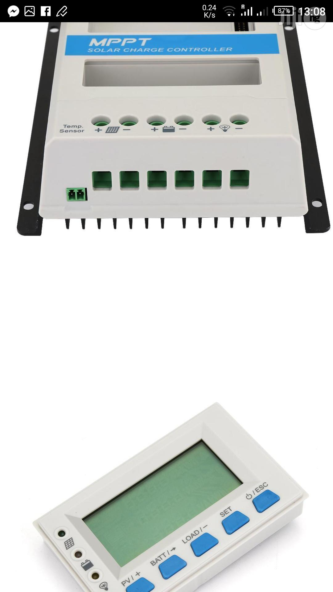 Epever 40A 12/24V Mppt Solar Charge Controller | Solar Energy for sale in Ojo, Lagos State, Nigeria