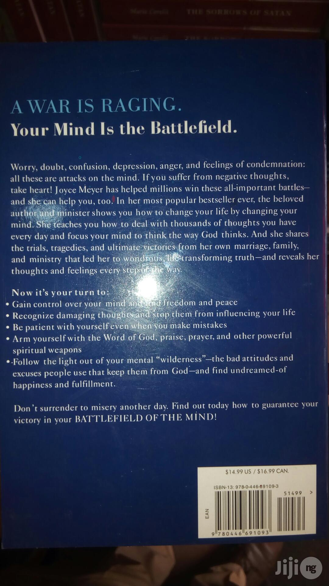Battlefield Of The Mind By Joyce Meyer | Books & Games for sale in Yaba, Lagos State, Nigeria