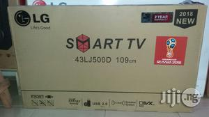 Original Lg 43 Inches Smart Led Tv With 2years Warranty Sign   TV & DVD Equipment for sale in Lagos State, Ojo