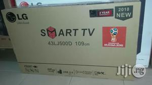 Smart Tv With Full HD 43 Inches and 2 HDMI and 2and 2 Yrs Wa | TV & DVD Equipment for sale in Lagos State, Ojo