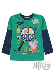 Peppa Pig Longsleeve Tshirt   Children's Clothing for sale in Lagos State, Surulere