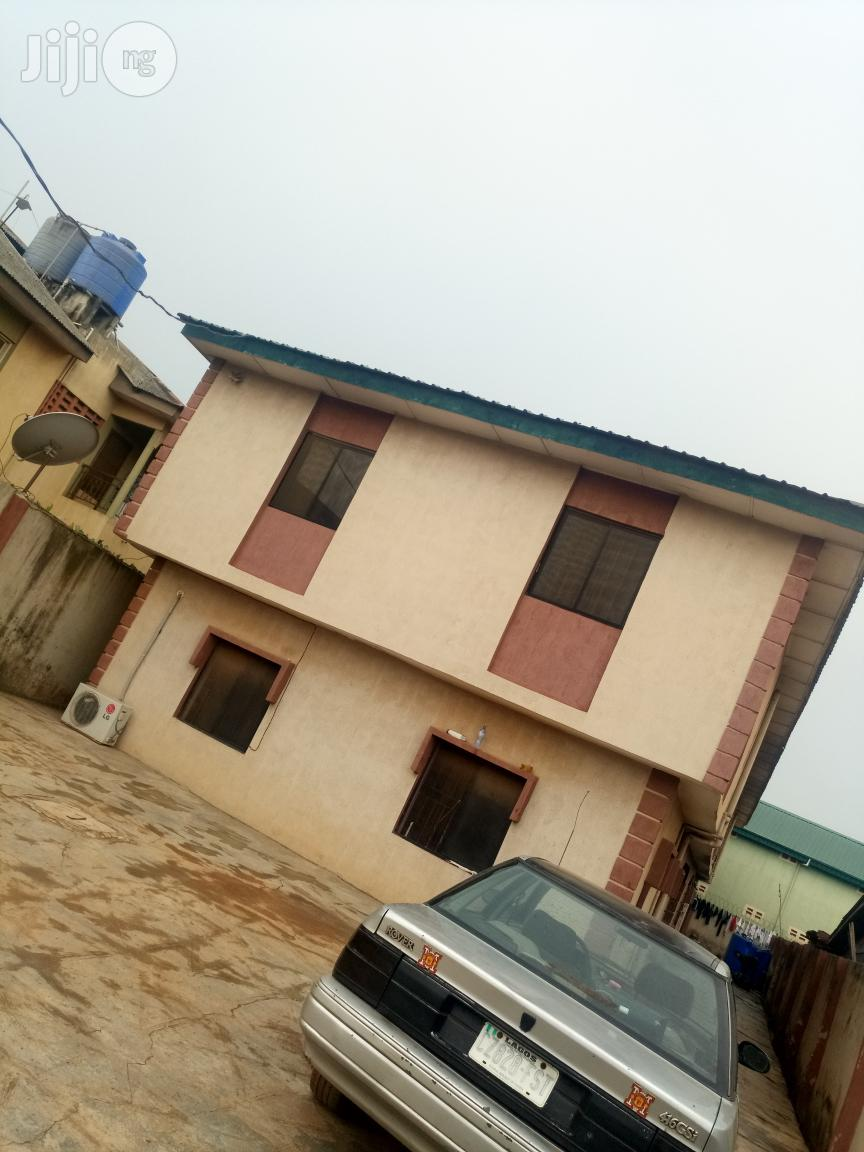 Standard & Clean 4 Flats of 3 Bedroom For Sale at Ipaja.