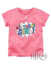 Carters Birthday Girl Pink Top | Clothing for sale in Lagos State, Ajah