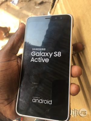Samsung Galaxy S8 Active Gold 64 GB For Sale | Mobile Phones for sale in Lagos State, Ikeja