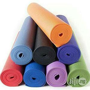 Yoga Exercise Mat Pink, Orange   Sports Equipment for sale in Lagos State, Surulere