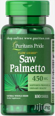Puritan's Pride Saw Palmetto Natural Herb | Vitamins & Supplements for sale in Lagos State, Surulere