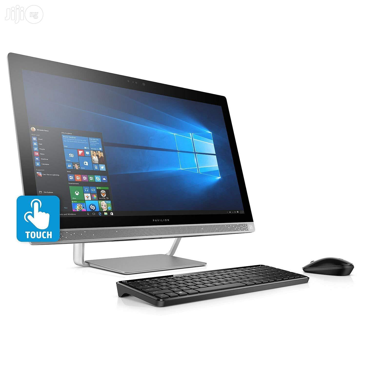 New Desktop Computer HP AiO 24 8GB Intel Core I7 HDD 1T | Laptops & Computers for sale in Ikeja, Lagos State, Nigeria