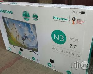 Hisense 75inches Smart 4k Tv 2018 Model Full HD   TV & DVD Equipment for sale in Lagos State, Ojo