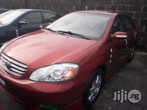 Toyota Corolla 2004 S Red | Cars for sale in Lagos State, Apapa