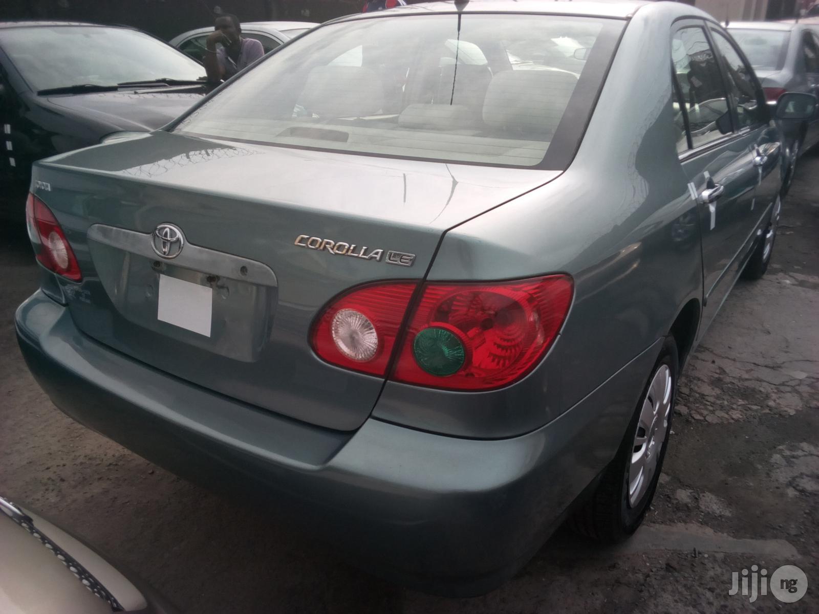 Toyota Corolla 2006 LE Blue   Cars for sale in Apapa, Lagos State, Nigeria