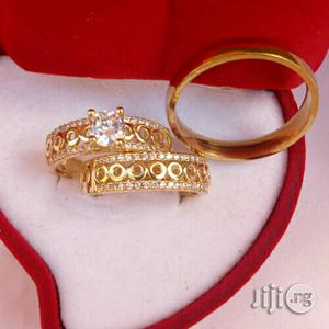 Romaian Plus Gold Wedding Ring   Wedding Wear & Accessories for sale in Lagos State, Ojota