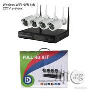 Wireless 4 Channels NVR Wifi CCTV Kits | Security & Surveillance for sale in Lagos State, Ikeja