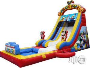 Mickey Mouse House Bouncing Castle and Slide With Pool   Toys for sale in Lagos State