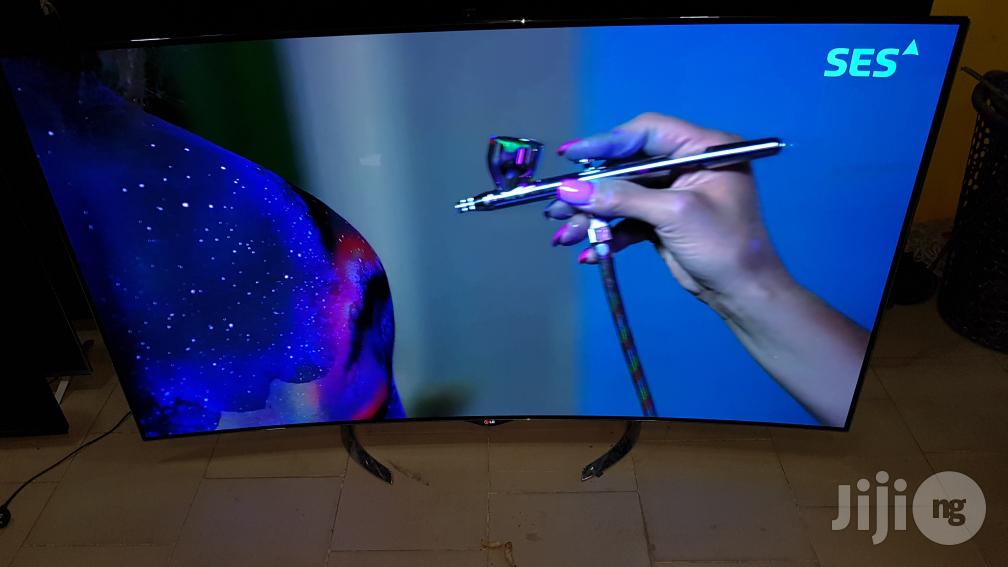 LG OLED CURVED Smart WEBO'S Camera Led 65EC970V 65 Inches | TV & DVD Equipment for sale in Ojo, Lagos State, Nigeria