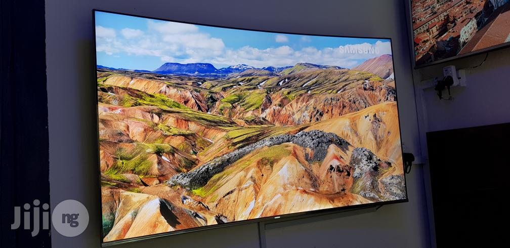 Samsung Smart Curved Suhd 4K Quantum Dot Hdr 1000 65 Inches | TV & DVD Equipment for sale in Ojo, Lagos State, Nigeria